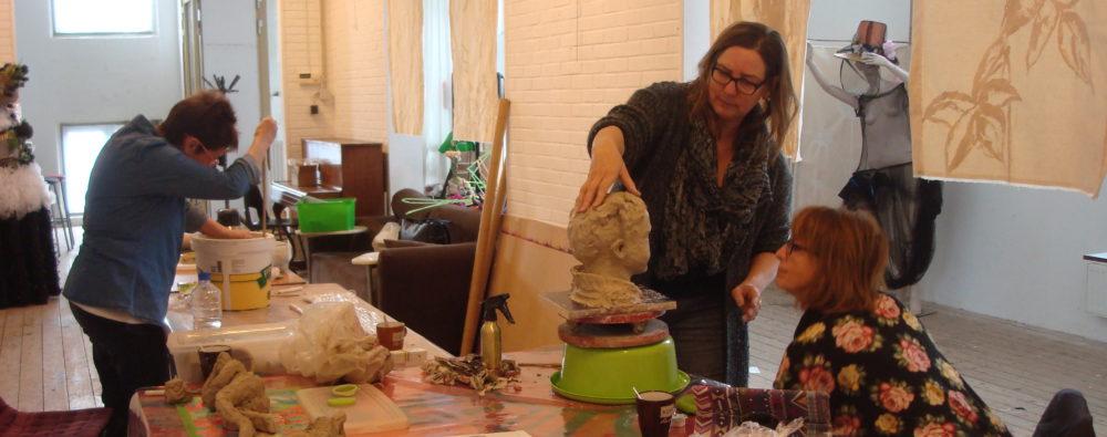Huiskamer-atelier Ada van Werkhoven